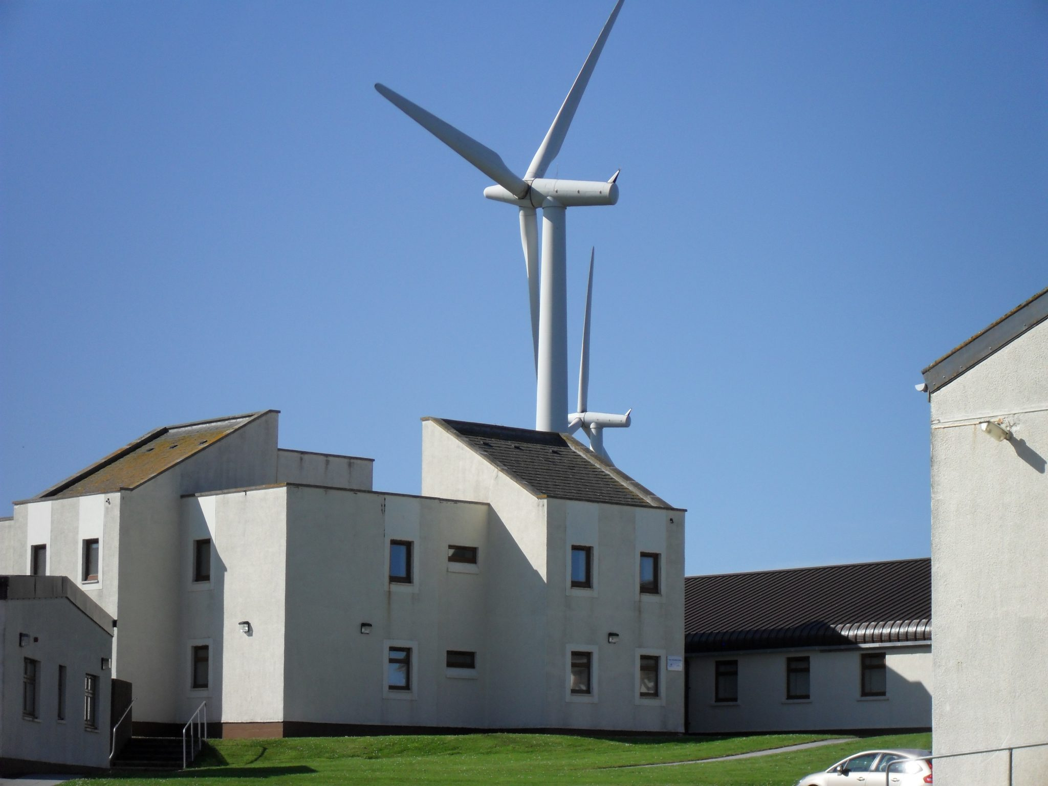 B6 and turbine